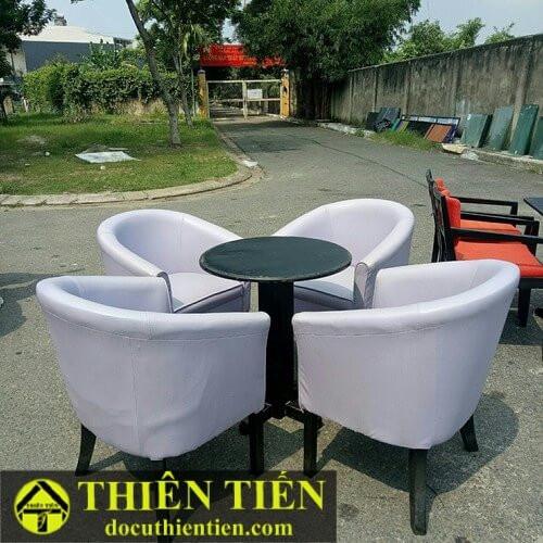 Bộ Sofa Nệm Ghế Tím