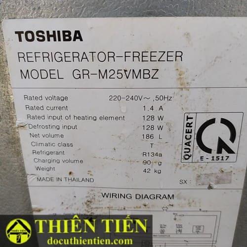 Tủ Lanh Toshiba Inverter