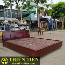 Giường Gỗ Tràm 1M6